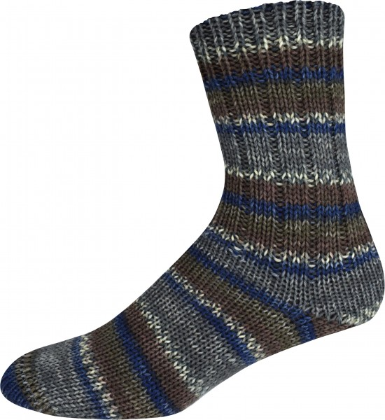 SUPERSOCKE 6-FACH SORT.278 NORD KAP COLOR 2419