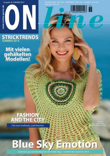 Strickheft Nr. 36 Frühling/Sommer 2014 (Art.-Nr.601182)