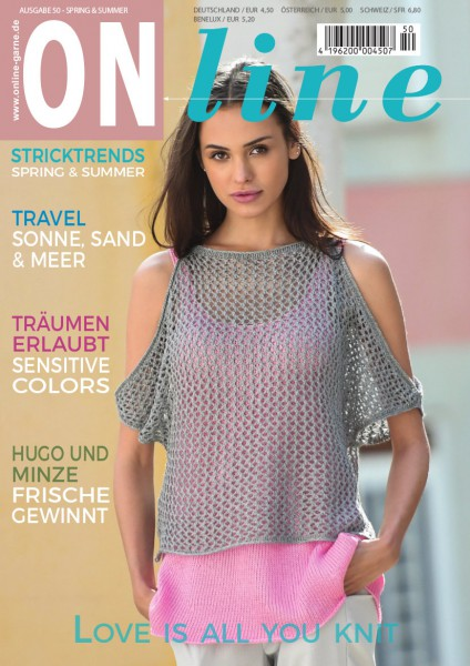 Strickheft Nr. 50 Frühling/Sommer 2018 (Art.-Nr.601252)