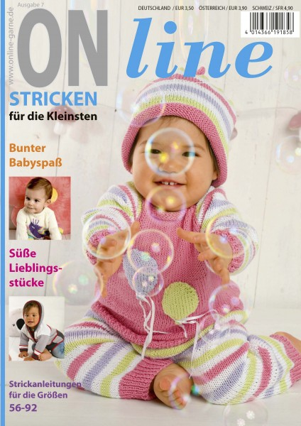 Strickheft Baby Nr. 7 (Art.-Nr.601277)