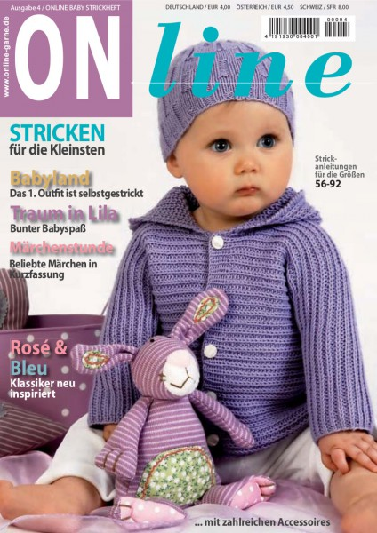 Strickheft Baby Nr. 4 (Art.-Nr.601125)