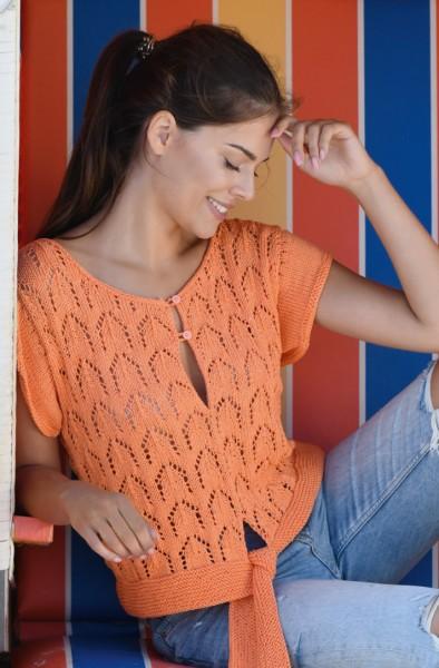 Shirt mit Taillenband (54_44)