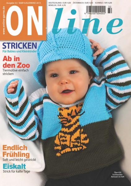 Strickheft Nr. 32 Baby und Kleinkind 2013 (Art.-Nr.601162)
