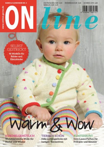 Strickheft Baby Nr. 5 (Art.-Nr.601217)